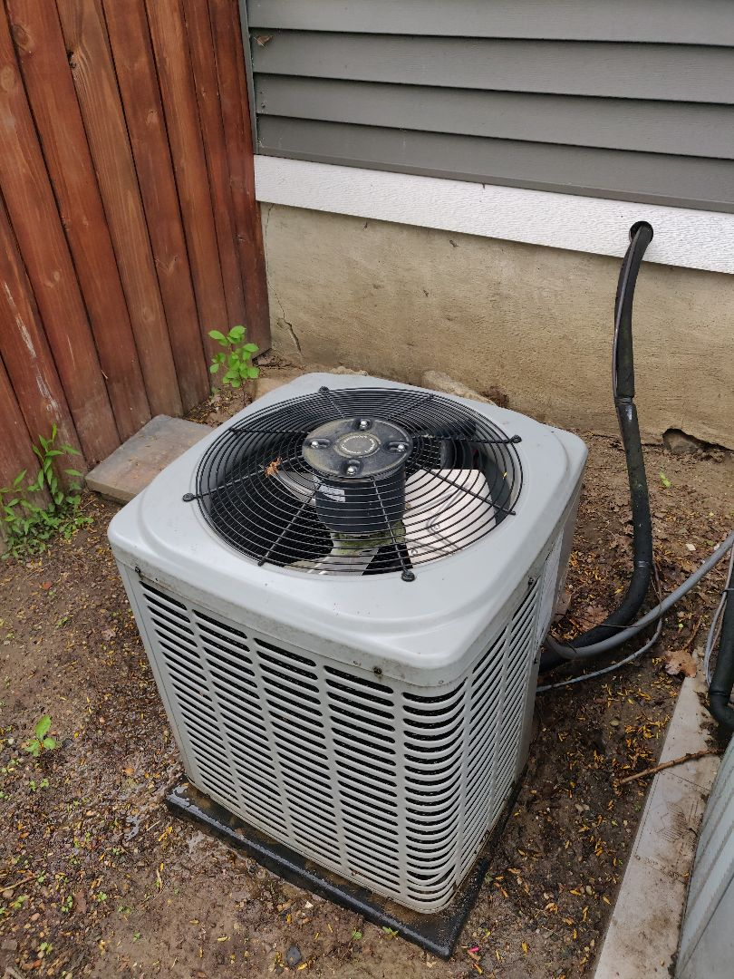 Bellevue, MI - No Cool ac repair. Replace contactor on a Luxaire central air