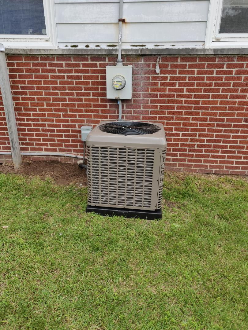 Battle Creek, MI - Replace old Dayton ac unit with a York