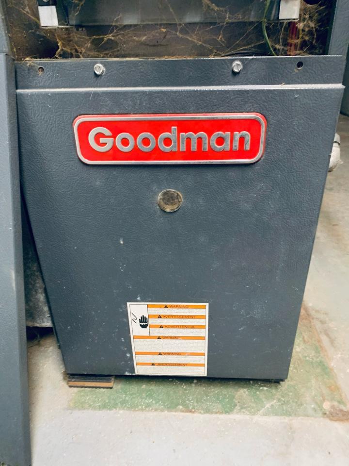 Battle Creek, MI - No heat repair on a Goodman gas furnace. Cleaning of the flame sensor.