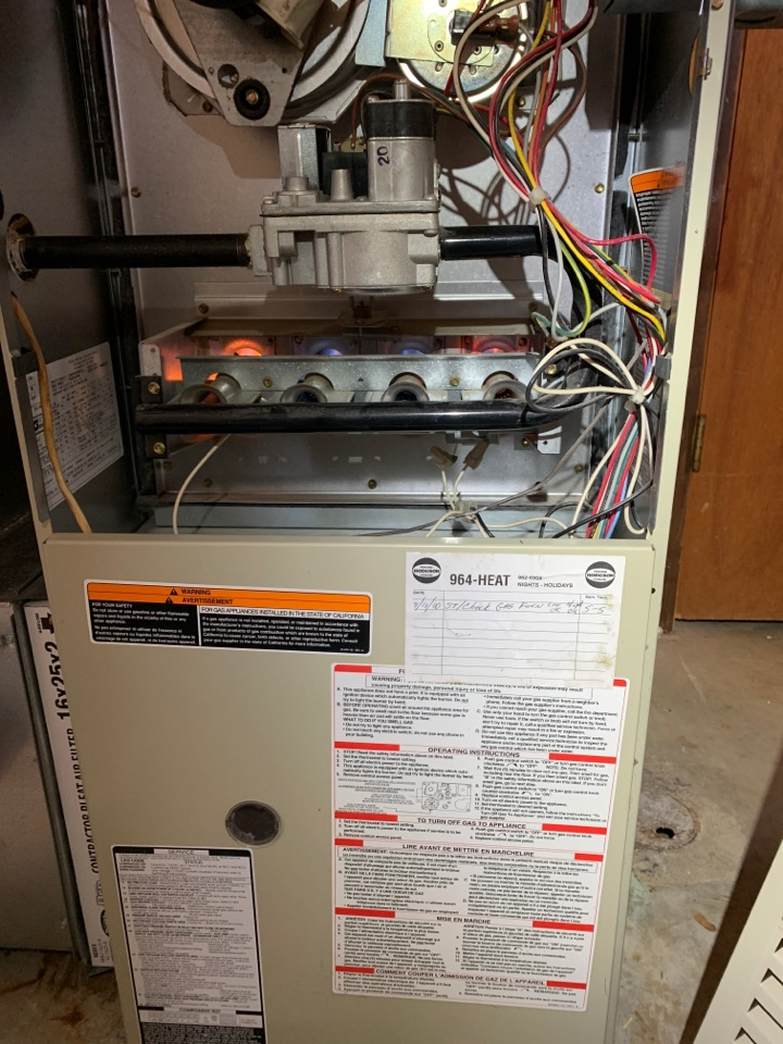 Battle Creek, MI - No heat repair on a Bryant plus 80 replacement of HSI was performed.