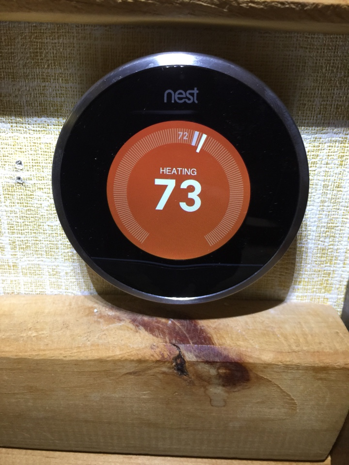 Dowling, MI - Had to replace a Thermostat that Sears crew installed, with a NEST wifi Thermostat. customer should be very happy with the NEST