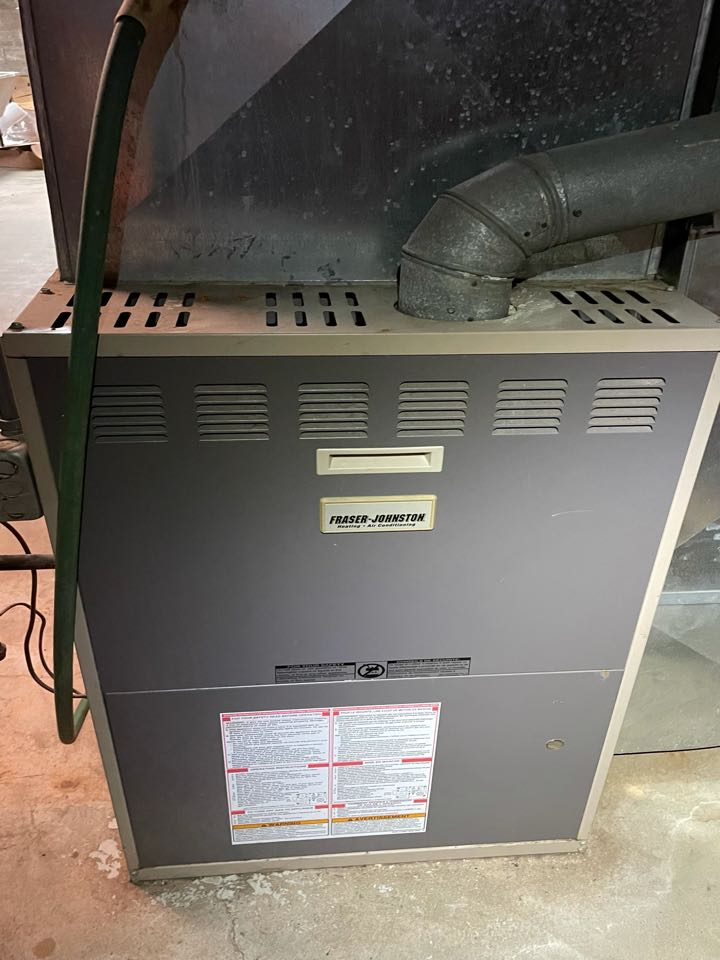 No air conditioner repair. Replacement of Blower motor luxaire gas furnace.