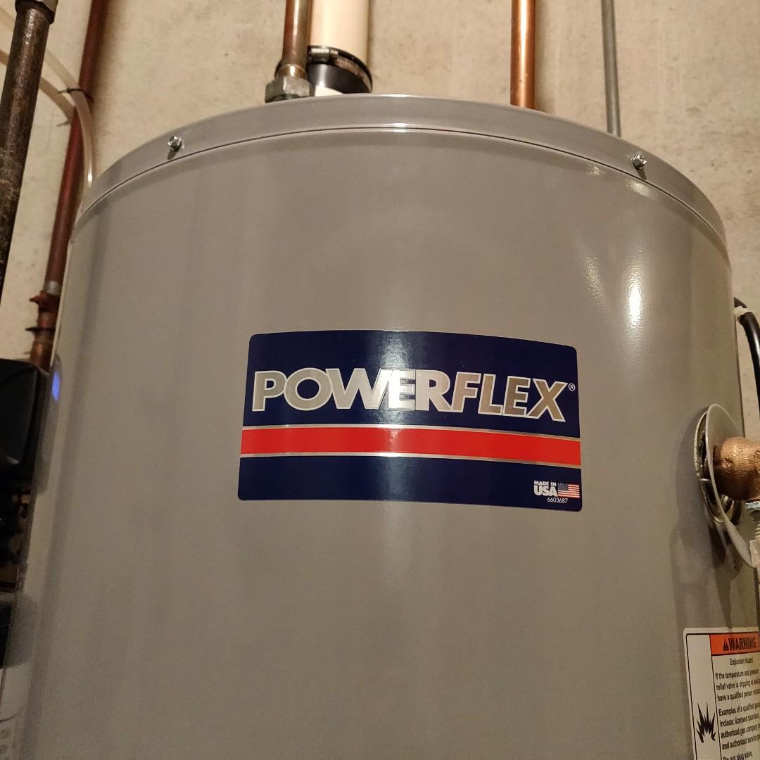 Battle Creek, MI - Clean flame sensor on a power flex water heater.