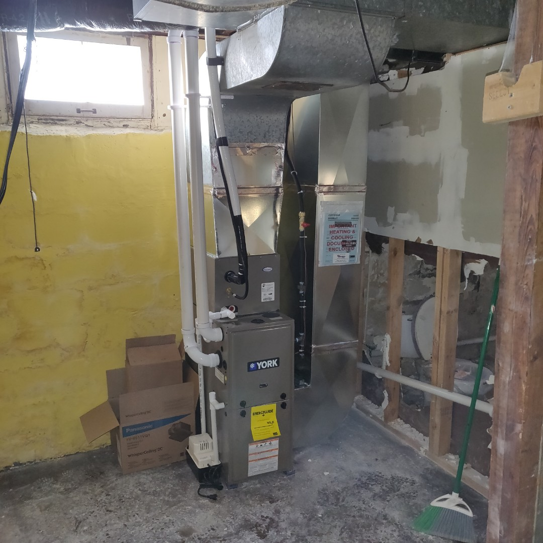 Battle Creek, MI - Replace old furnace with a york furnace and ac