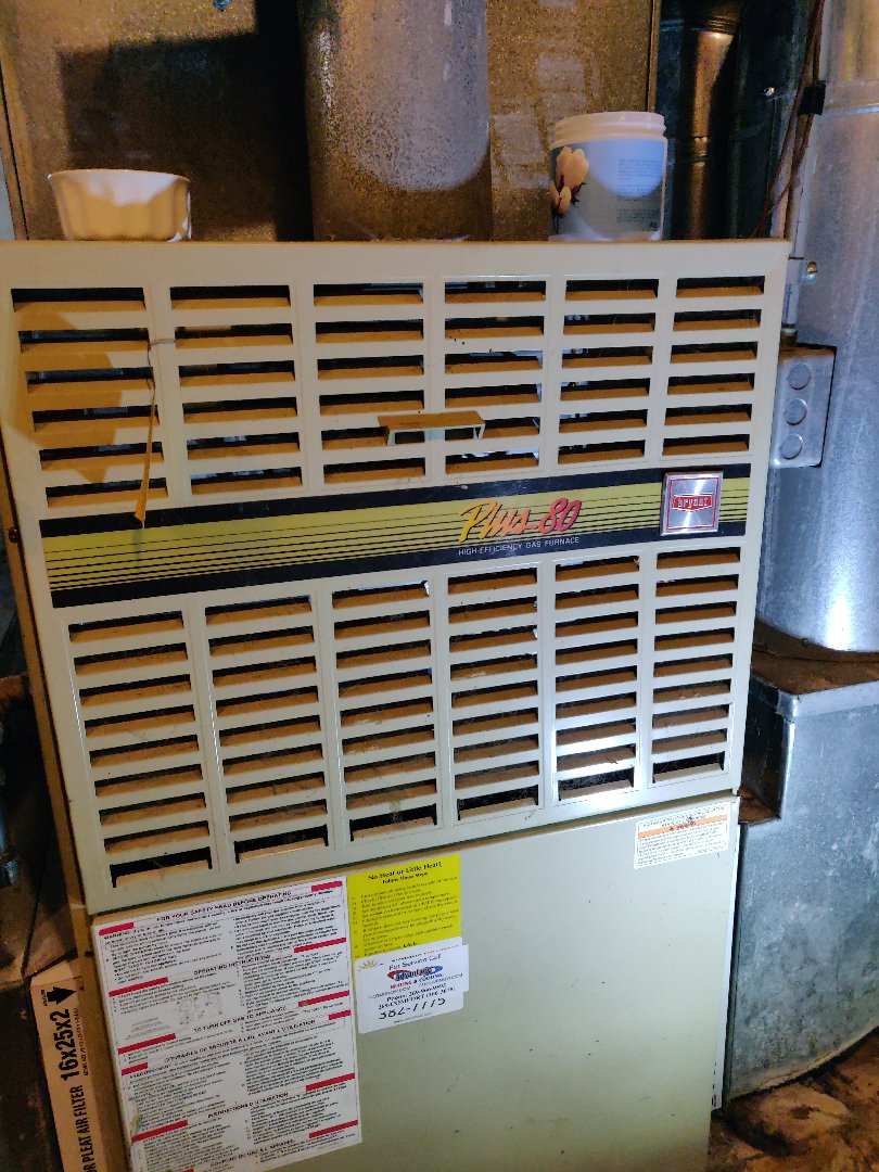 Battle Creek, MI - Service call no heat Bryant gas furnace. Replacement of HSI.