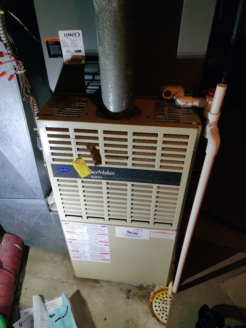 Battle Creek, MI - Service call no heat repair HSI replace. Carrier weathermaker 8000