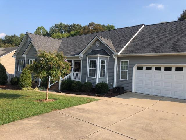 Clayton, NC - We replaced this roof with GAF Natural Shadow Architectural Shingles in Charcoal back in September 2019. This was another claim we got APPROVED through insurance for a storm damage claim. Yet another happy Clayton, NC customer!
