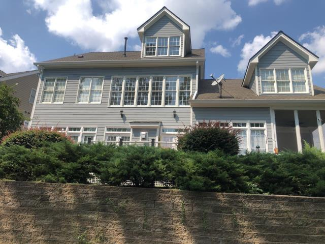 Cary, NC - This is an APPROVED insurance roof damage claim from storm damage. We replaced the roof in September 2019 with GAF Timberline HD Architectural Shingles in Weathered Wood.