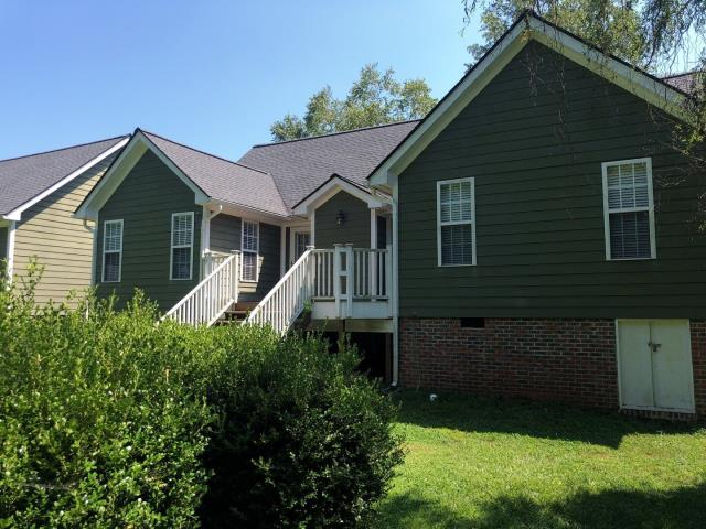 Clayton, NC - We replaced this roof with GAF Timberline HD Architectural Shingles in Pewter Gray with an APPROVED insurance claim for storm damage. Looks fantastic!