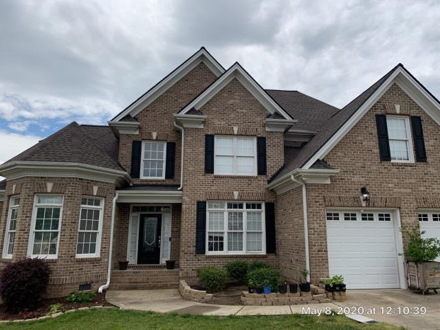 Knightdale, NC - State Farm APPROVED this roof for a storm damage claim. We replaced the roof with GAF Timberline HD Architectural Shingles in Mission Brown in May 2020.