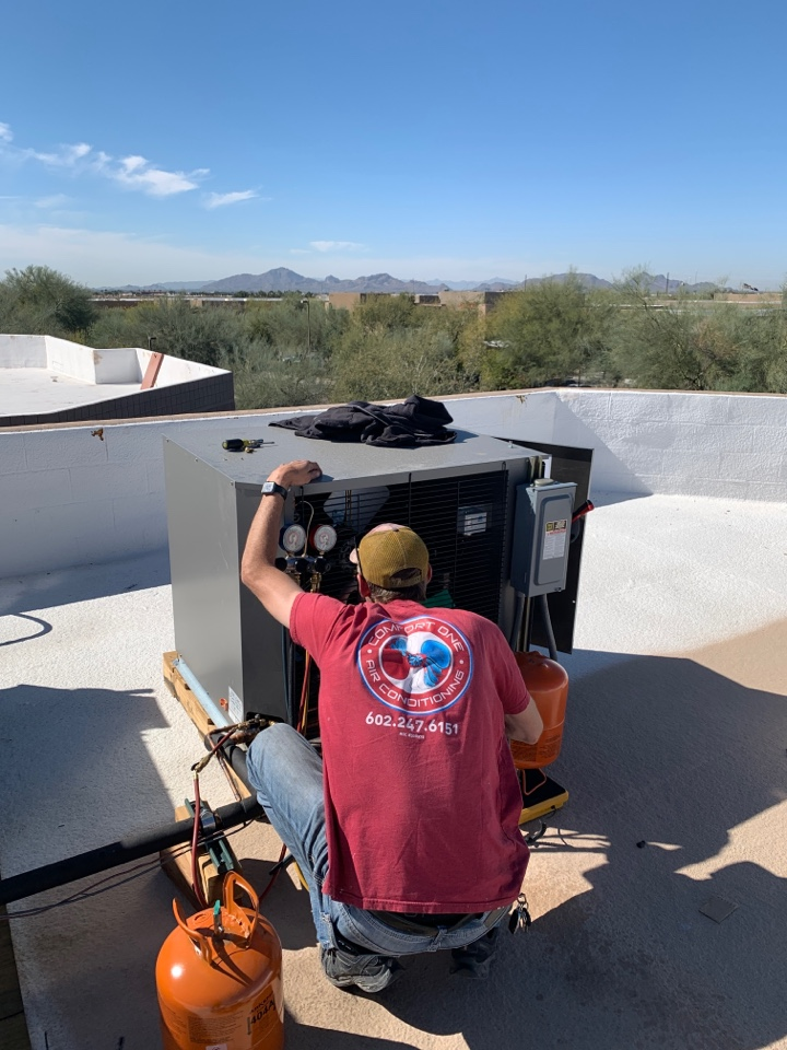 Scottsdale, AZ - Getting some specialty refrigeration systems dialed in today in Scottsdale today
