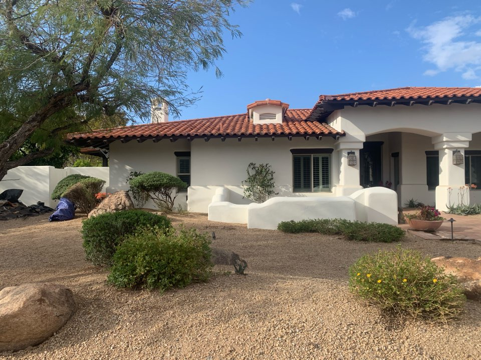 Paradise Valley, AZ - Just finished up putting new duct work on  the left side of this beautiful home. Customer is happy with the better airflow. All prepared for Summertime!