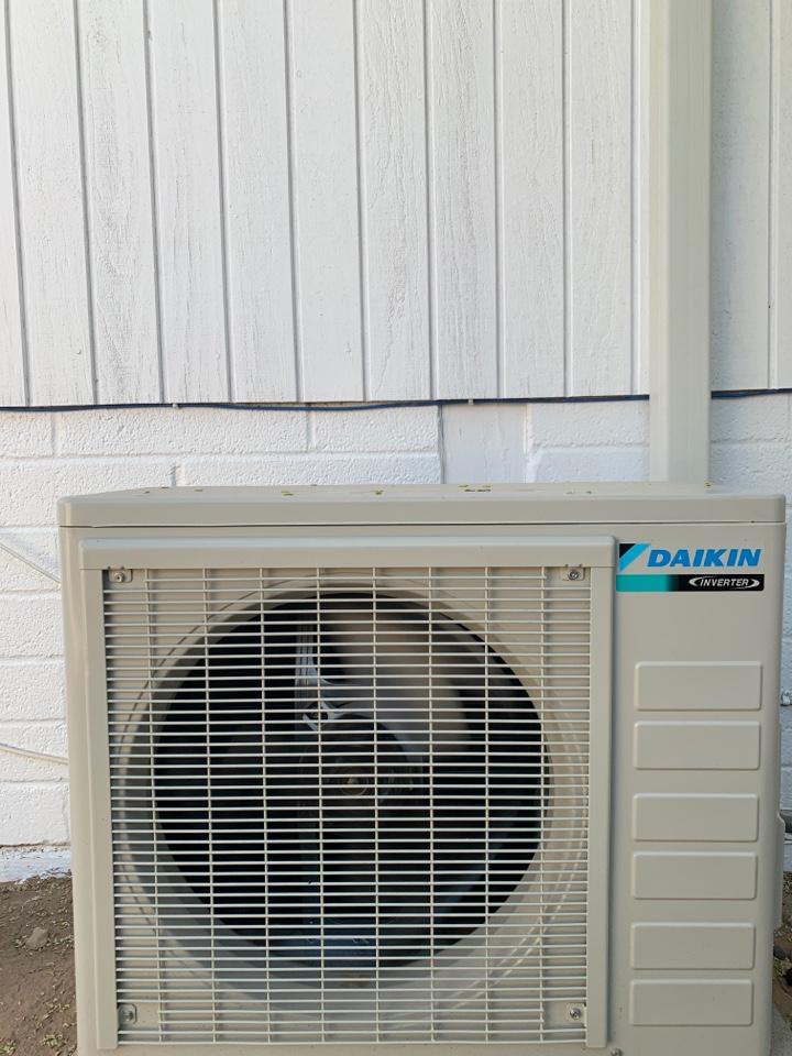 Scottsdale, AZ - Yearly maintenance on Daiken ductless system for home office!!