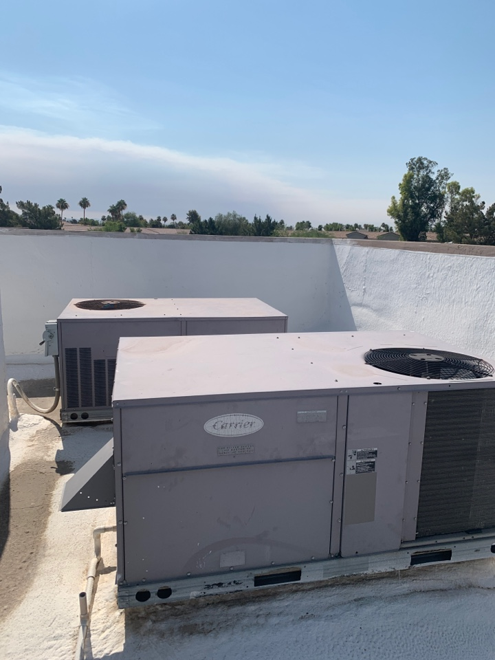 Scottsdale, AZ - Making sure the air Conditioning units are sufficient for new tenant improvement in Scottsdale
