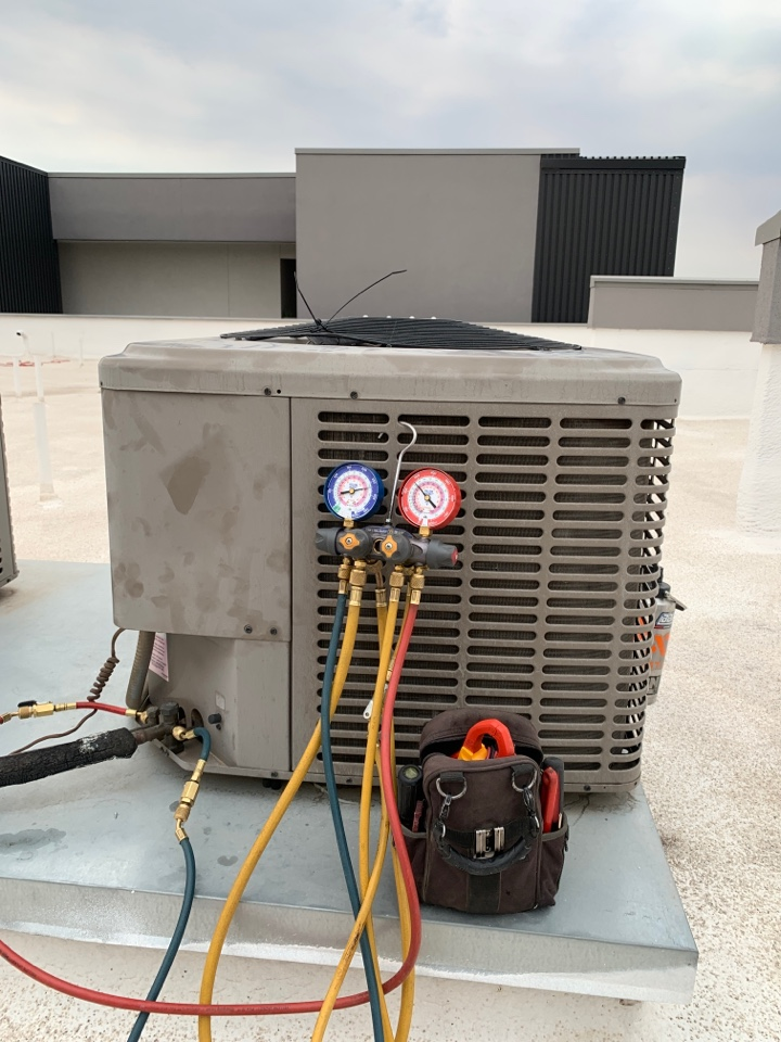 Phoenix, AZ - Replaced a faulty compressor on this York Air Condition unit. Unit is all ready for summer!!