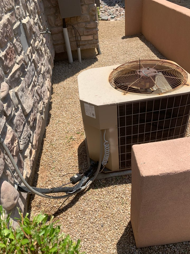 Phoenix, AZ - Conducted preseason checkups on multiple air conditioners on a club house.
