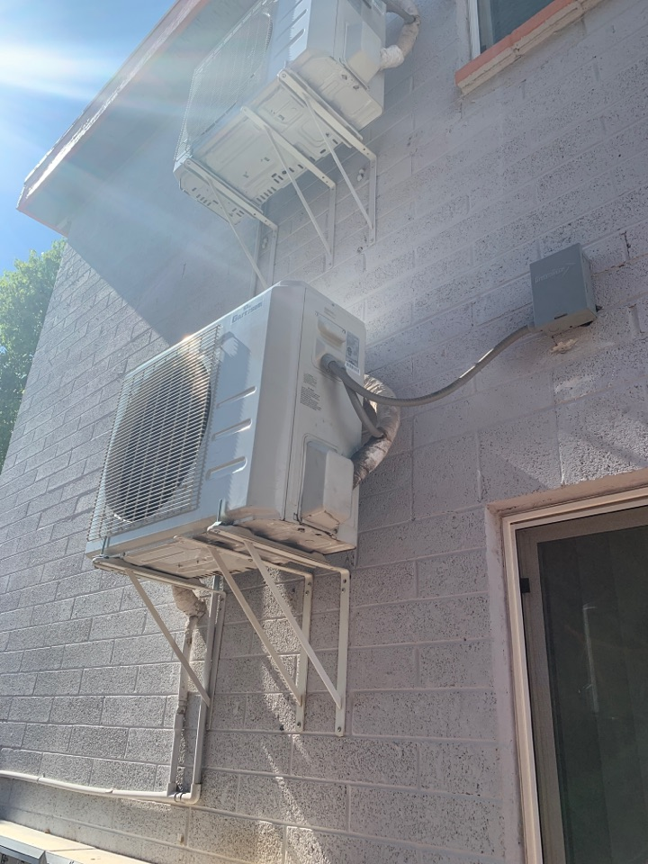 Phoenix, AZ - Got a Ductless system back up and cooling.  Torqued connections to proper specs, vacuumed and recharged