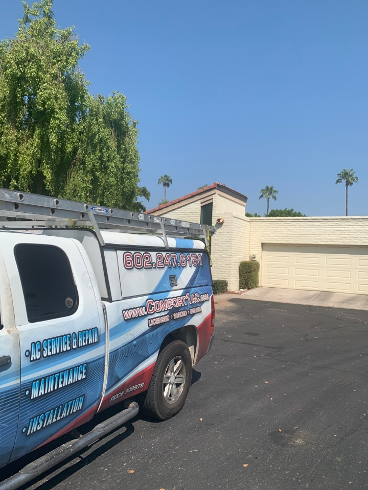 Phoenix, AZ - Found Carrier package heat with faulty circuit board.  Replaced board and system is back cooling home.
