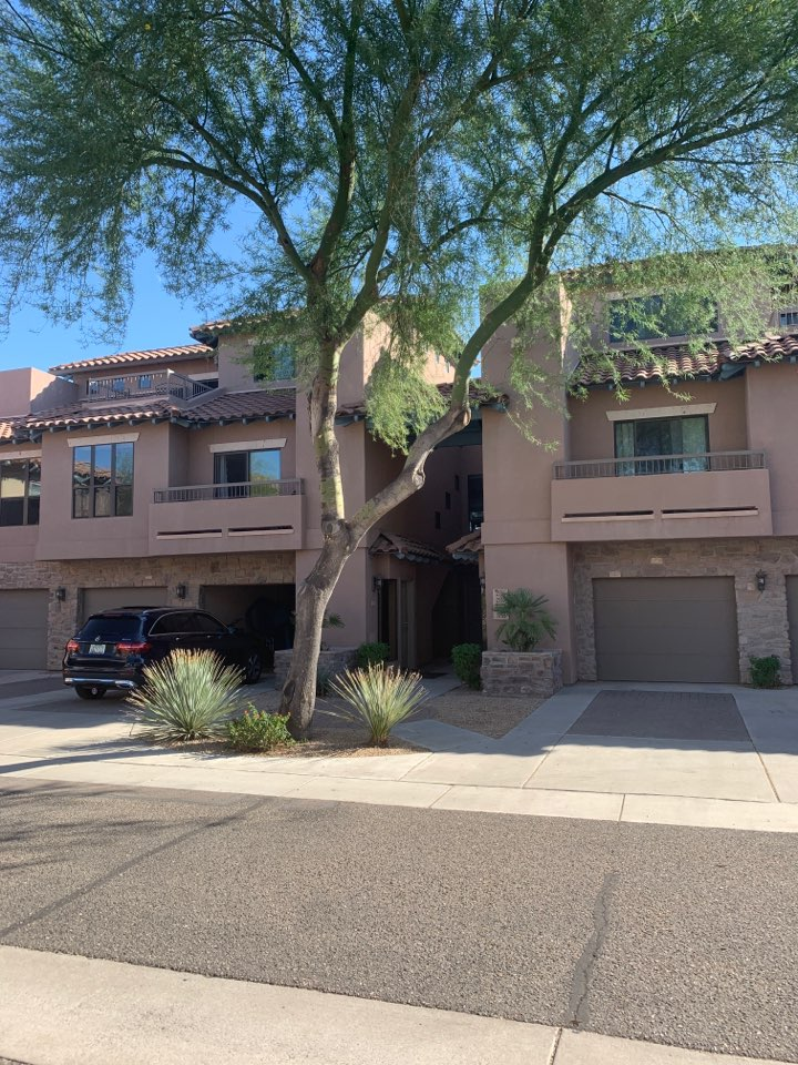 Phoenix, AZ - Inspected indoor air handler for suspicious noise. No noises were made will inspecting. Found motor operating as it should with no loose fan blades and clean coil. Unit operating as it is supposed to.