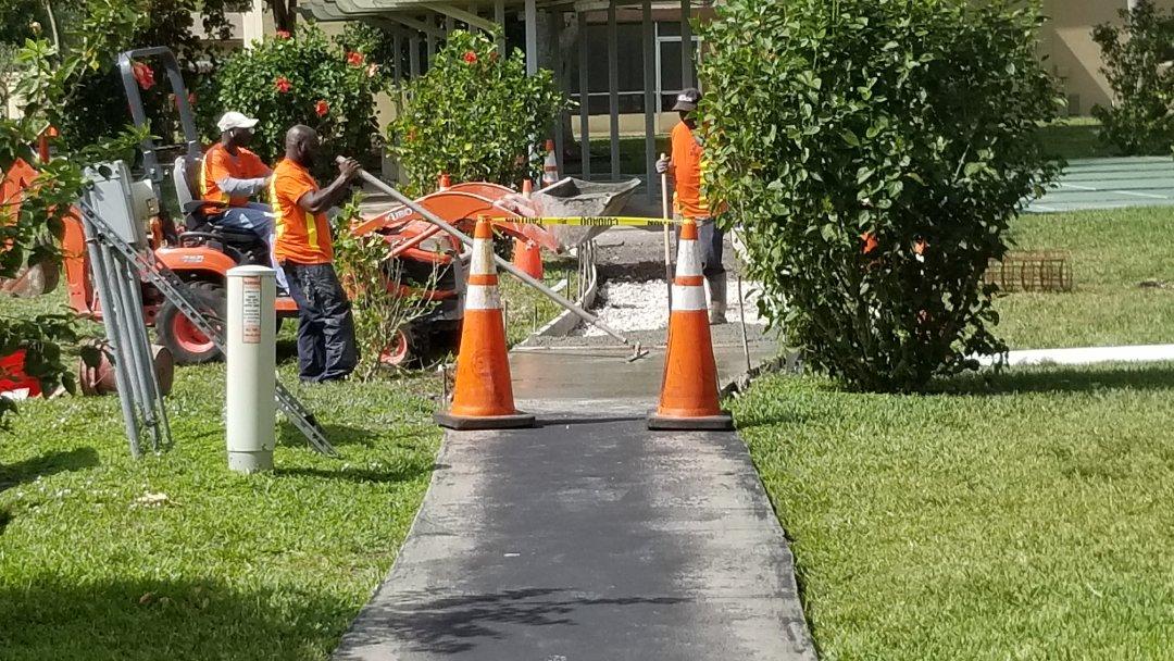 Margate, FL - Sidewalks in Margaret