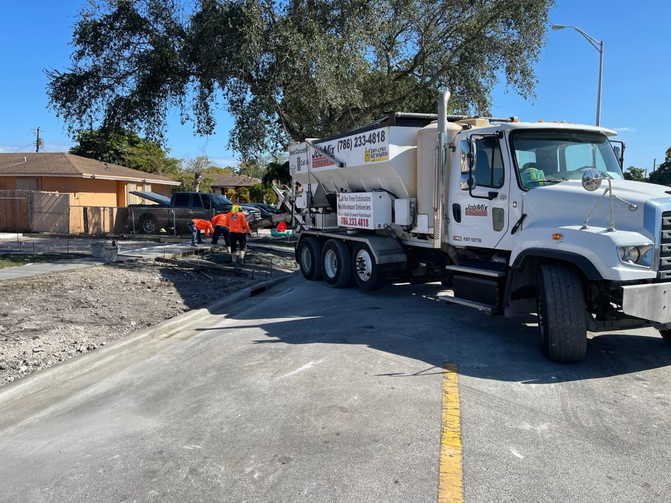 Hialeah, FL - Driveway being done in Hialeah!
