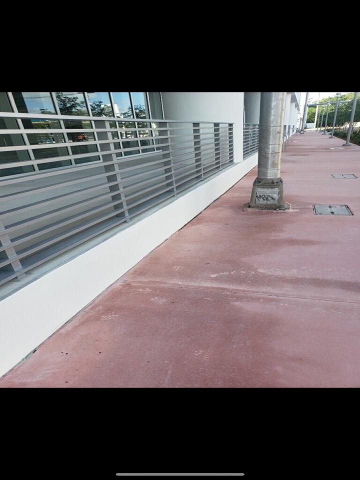Opa-locka, FL - Miami Beach Red Sidewalks!