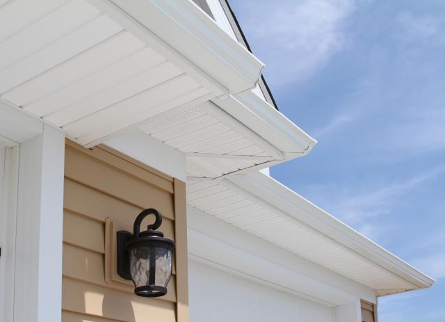 Winston-Salem, NC - Measure twice, cut once! Another Soffit replacement by yours truly!