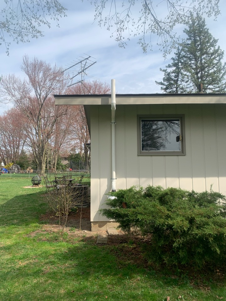 Georgetown Township, MI - Radon gas is the leading cause of lung cancer in the United States for none smoking individuals. A simple exterior radon mitigation system such as the one in the attached picture can keep you and your family safe from lung cancer.