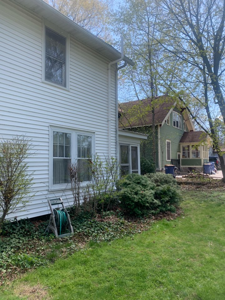 Grand Rapids, MI - This radon mitigation system was installed for a home that's currently pending in a real estate deal. Don't let radon gas get in the way of your home sale.