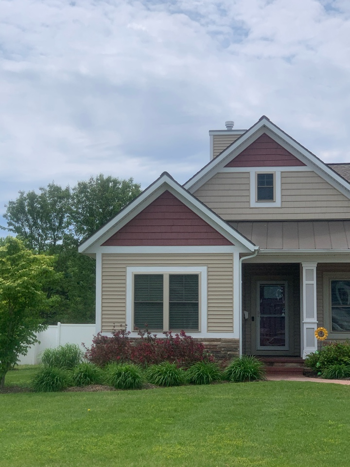 Douglas, MI - We installed a radon mitigation system for a new house built by Bosgraph Homes.