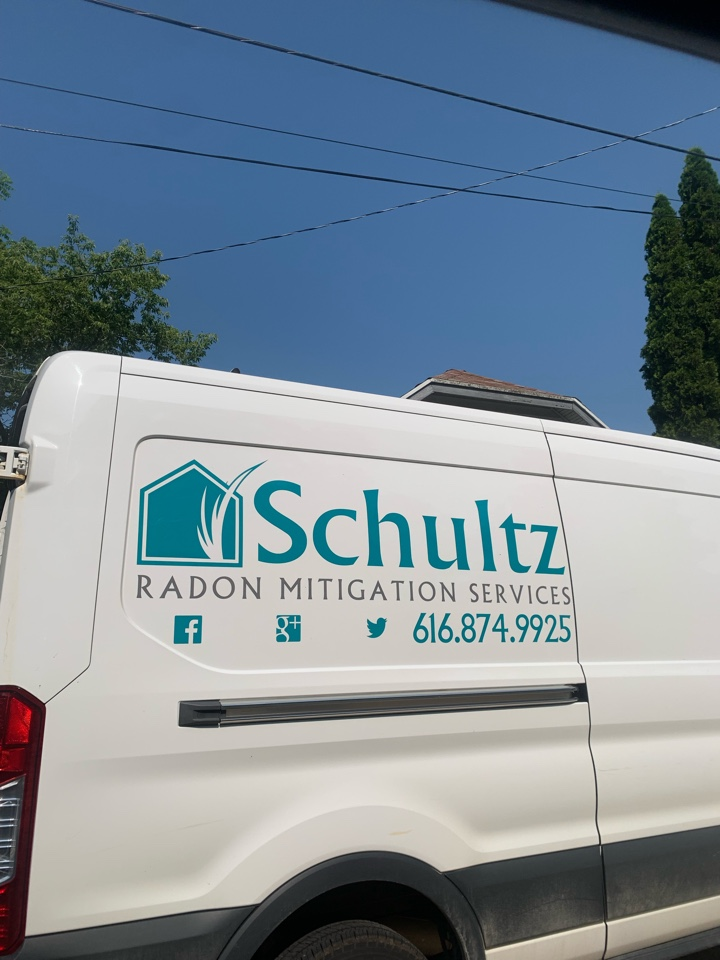 Rockford, MI - Just quoted a house for a radon mitigation system. This house the buyers opted for the attic style radon mitigation system which will look the best and be the most hidden.