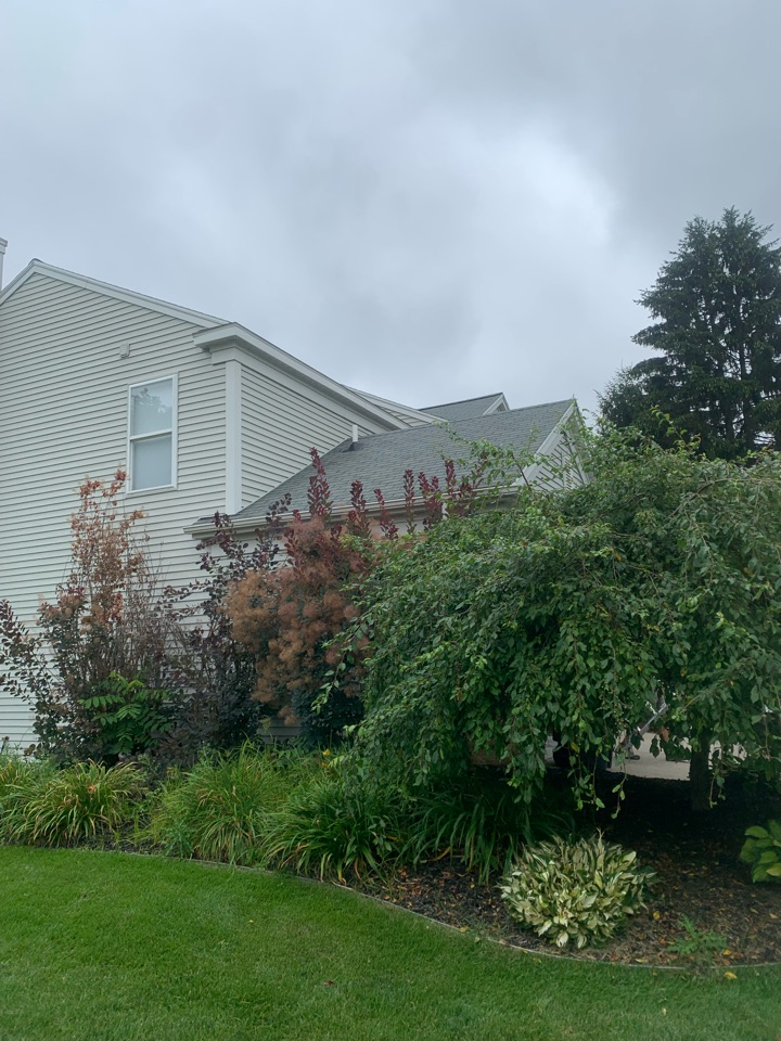 Grand Rapids, MI - Just installed another radon mitigation system up in the garage attic space of this home.