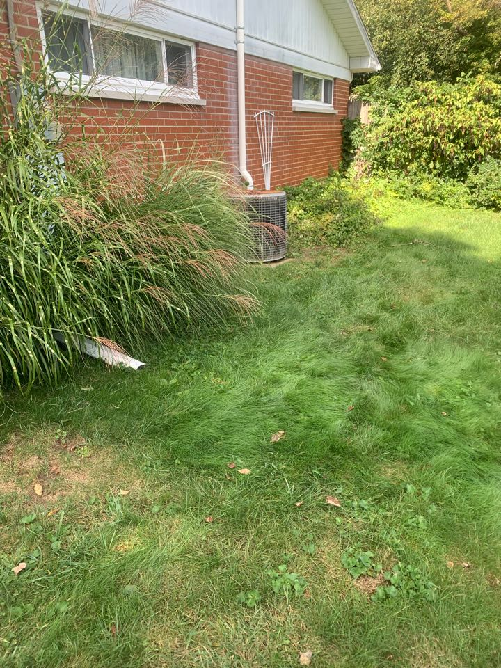 Augusta, MI - Just install a radon mitigation system over here for a house that tested high for radon gas. We are glad to make this house safe for the new homeowners.