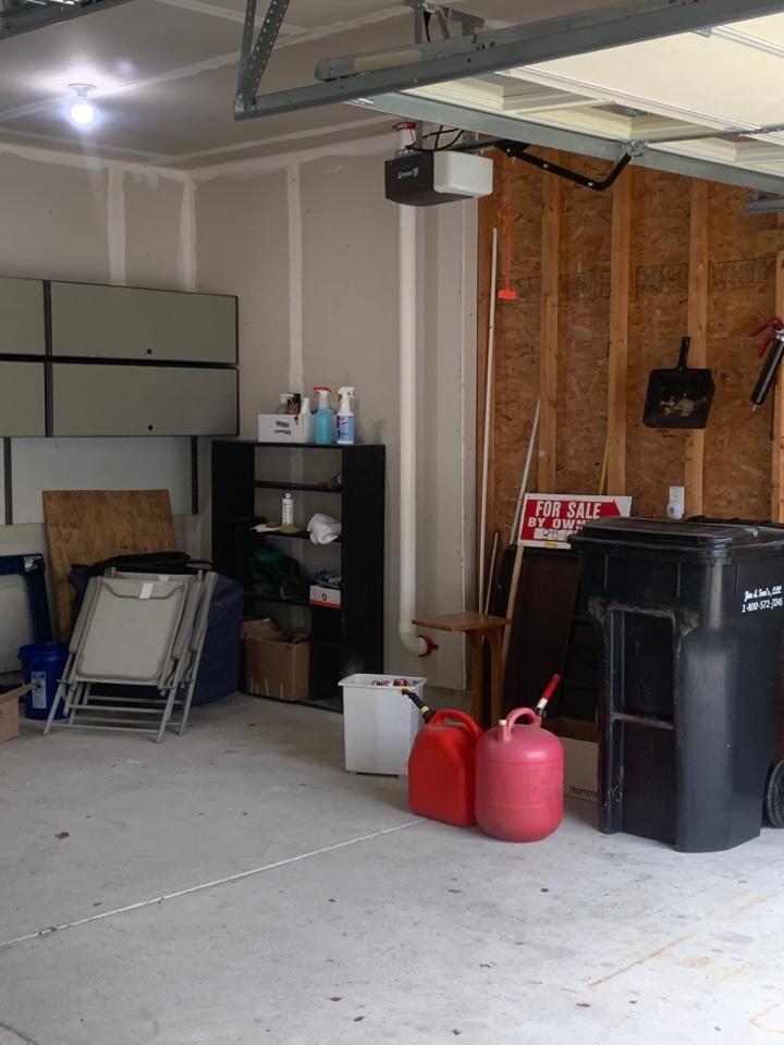 Alto, MI - Just installed another radon mitigation through the garage attic if this house.