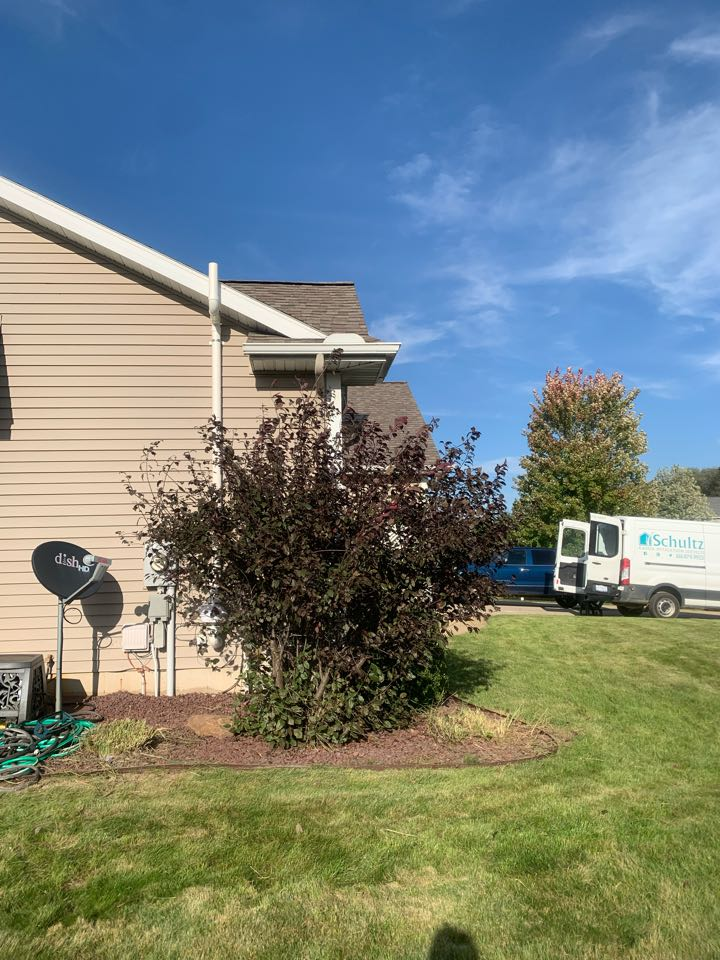 Portland, MI - Just completed another radon system installation in Portland Michigan. We also took care of a separate pest control problem for this same customer.