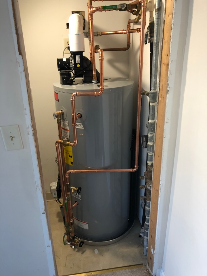 Easton, MD - Water heater replacement