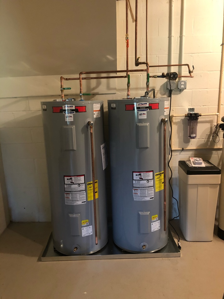 Trappe, MD - Water heater install