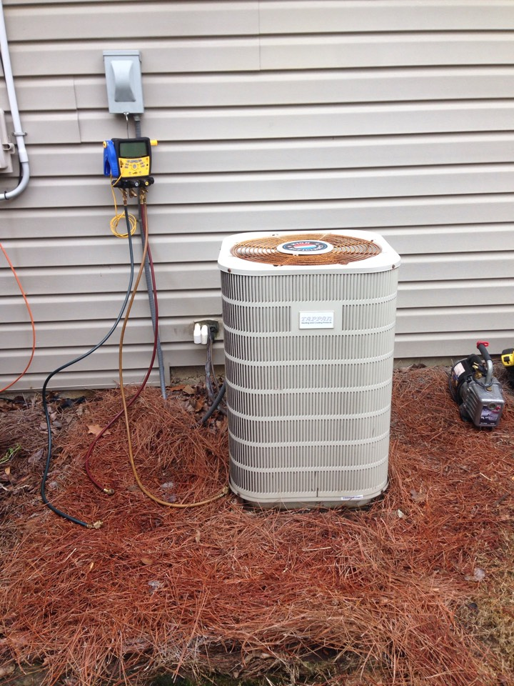 Bessemer, AL - About to start a change out on a 4 ton heat pump system.