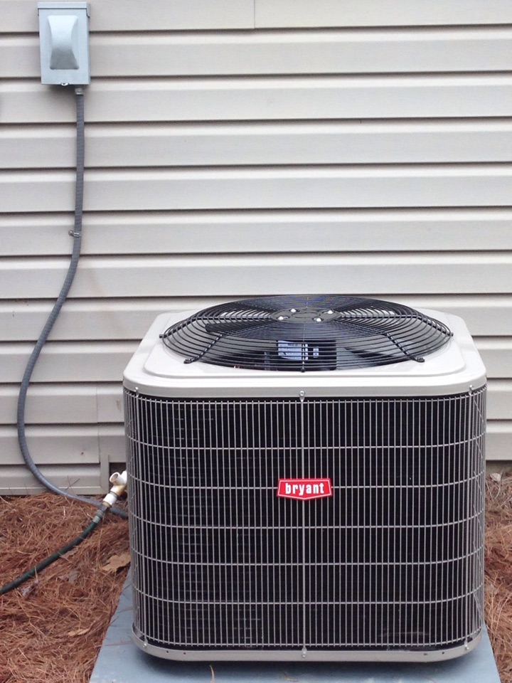 Bessemer, AL - Installed a new 4 ton heat pump Bryant system. Checked unit and system is running properly.