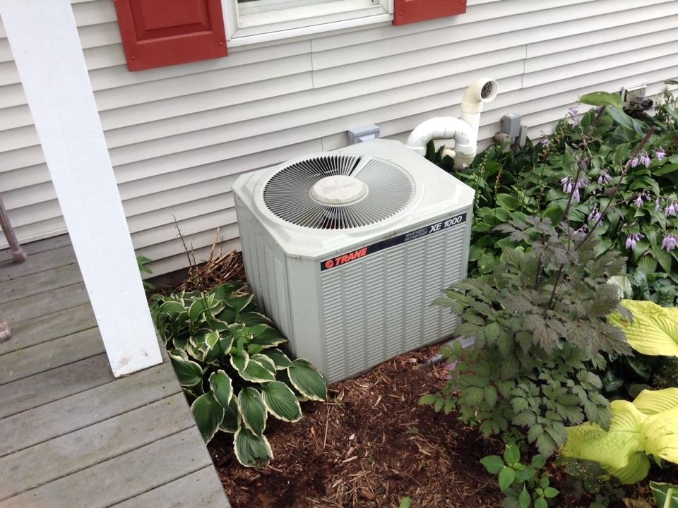 Cross Plains, WI - Air conditioner repair on Trane unit