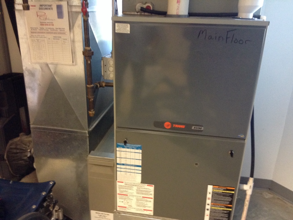 Mount Horeb, WI - Furnace maintenance on three Trane furnaces and two boilers