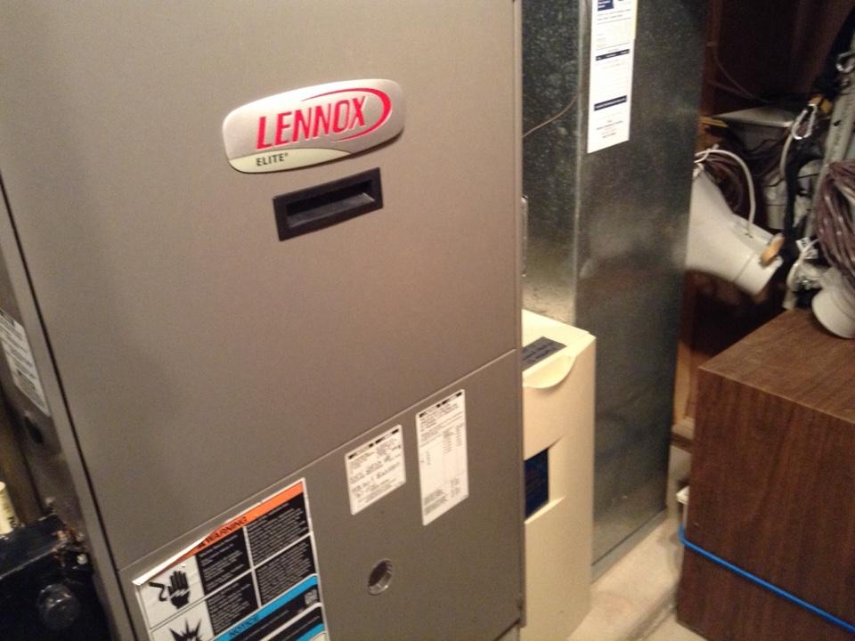 Black Earth, WI - Furnace repair on Lennox furnace