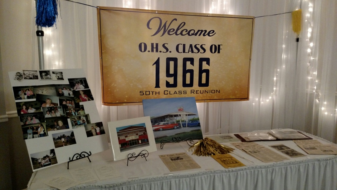 Owosso, MI - Congratulations Owosso class of 1966 from your friends at D'Mar Banquet Center