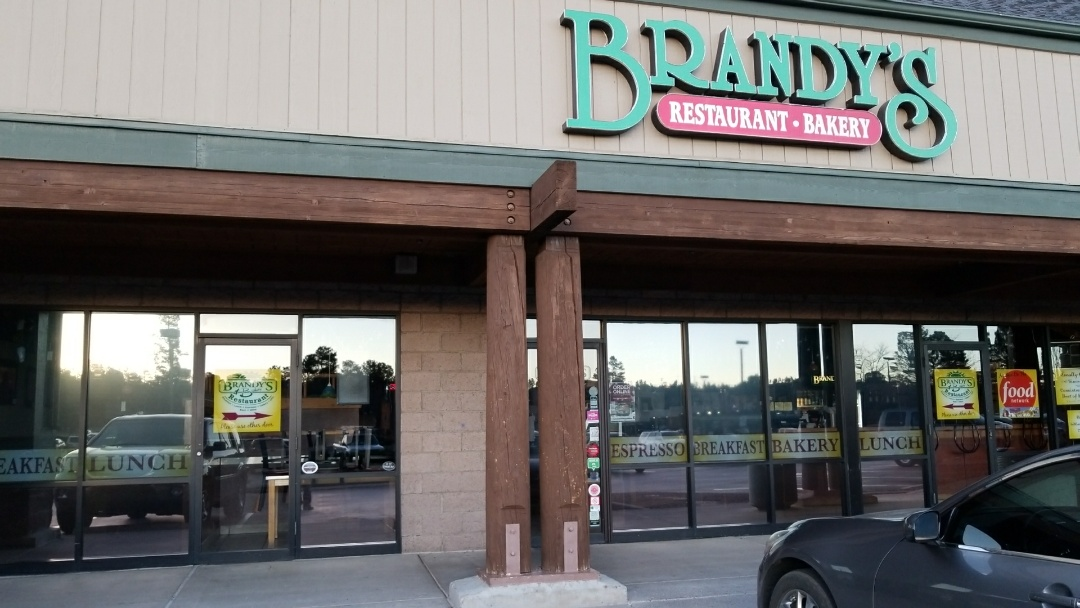 Cleaned windows at Brandy's!