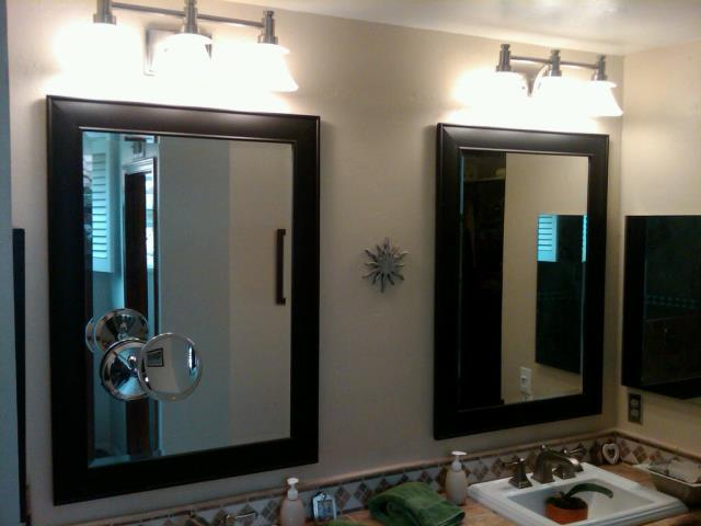 New York, NY - Installation of bathroom Vanity and GFI outlets