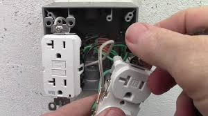 GFCI protection devices are required for all 15A and 20A, 125V receptacles located in garages and grade-level portions of unfinished or finished accessory buildings used for storage or work areas of a dwelling unit