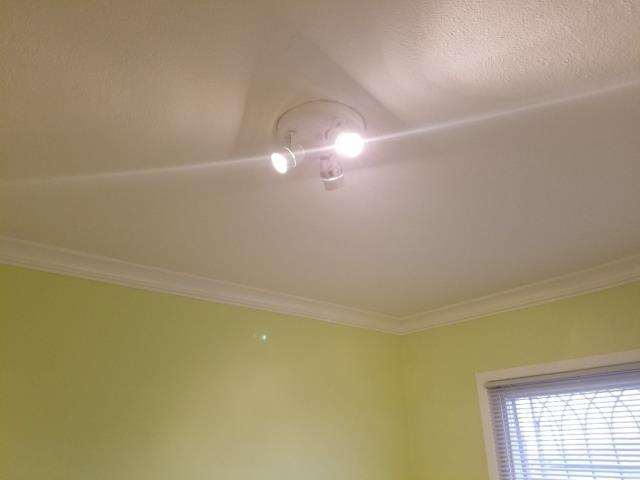Replace ceiling fan with standard ceiling mounted fixture