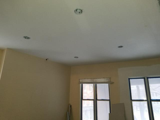 Installation of 4 recessed lights - Recessed light fixtures are flush with the ceiling, making them great for rooms with low ceilings. These fixtures have three main components that can define the type of recessed light — housing, trim style and bulb or lamp type.