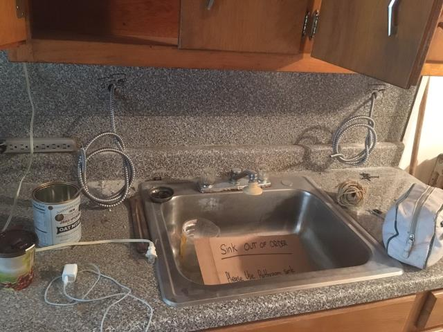 Electrical rough for kitchen counter top outlets - NEC code requires a GFI outlet within 2 feet of the kitchen sink to protect against electrical shock while working in the kitchen.