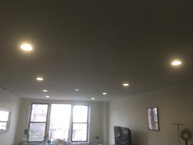 Installed Recessed lighting - LED 4 inch Retrofits